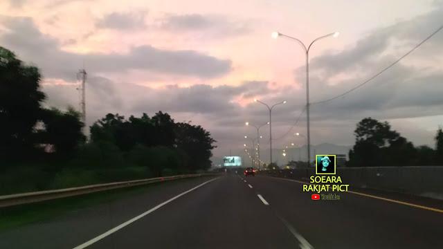 Jalan angker di indonesia tol cipularang km 100 - km 90