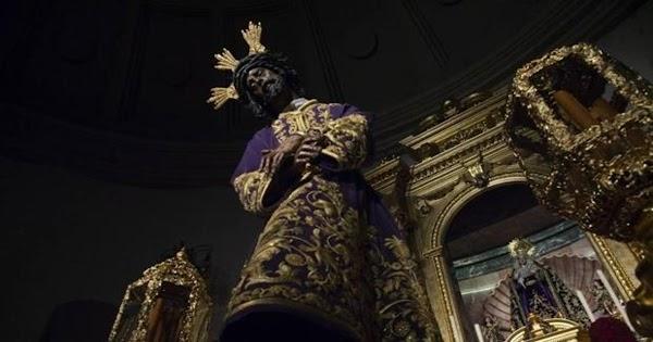 Horario e Itinerario del Traslado del Gran Poder desde Blanca Paloma a la Parroquia de la Candelaria. Sevilla 23 de octubre del 2021