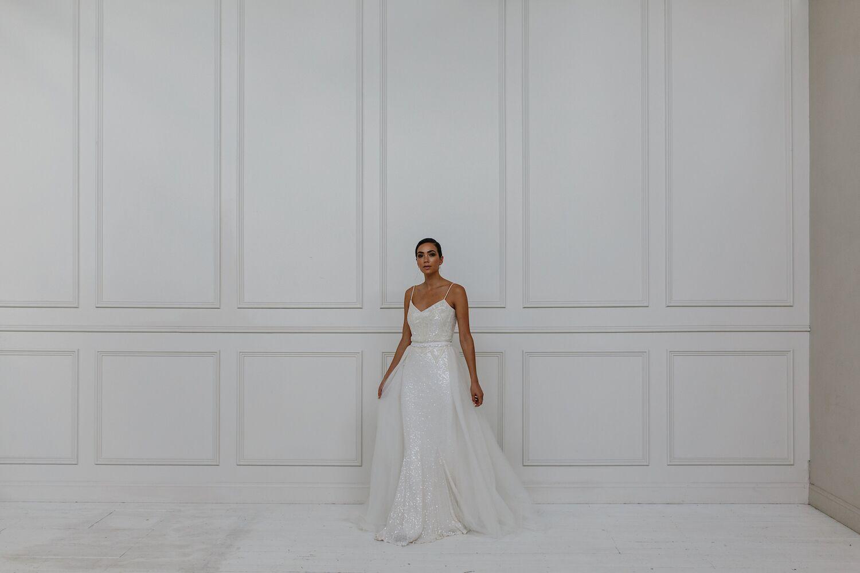 BRIDAL: KAREN WILLIS HOLMES BRIDAL | 2018 SEQUIN BRIDAL COLLECTION