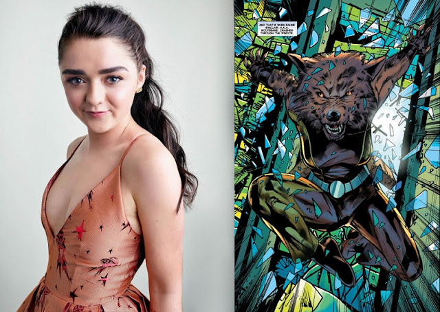 Maisie Williams as Rahne Sinclair Wolfsbane