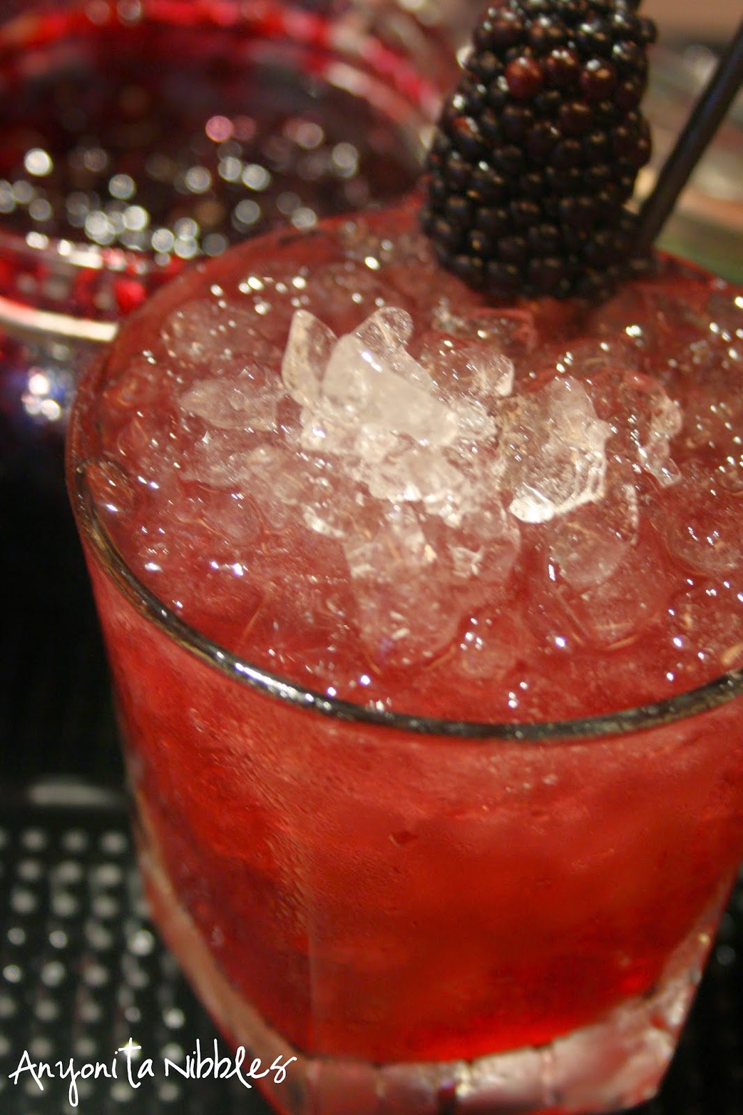This delicious cocktail is easy to drink and full of fruit flavor. From Anyonita Nibbles