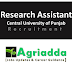 Research Assistant | Central University of Punjab, Bathinda, Punjab Recruitment 2020
