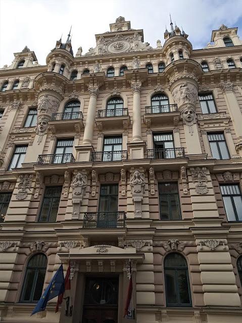 facciata art nouveau scuola di legge riga