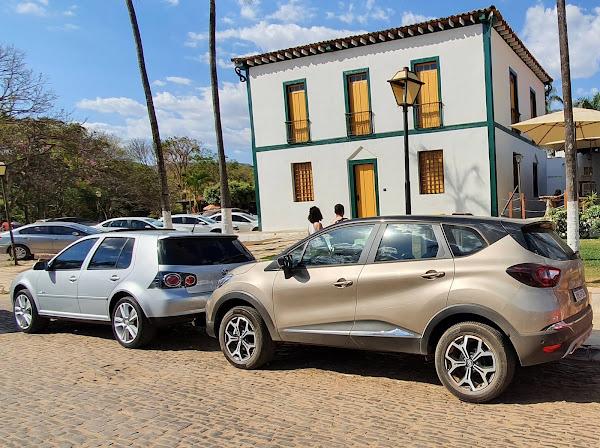 Novo Renault Captur 2022 Turbo - Pirenópolis