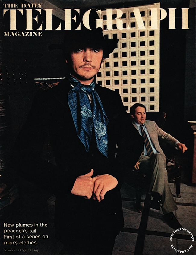Sweet Jane blog, 1960s Male Peacock Fashion, Terence Stamp 1960s Tailoring