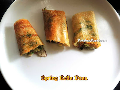 Spring Roll Dosa