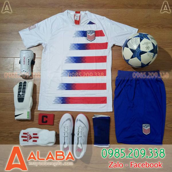 Áo Mỹ 2019 màu trắng