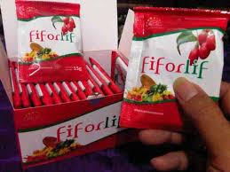 Fiforlif obat detox usus dan diet herbal