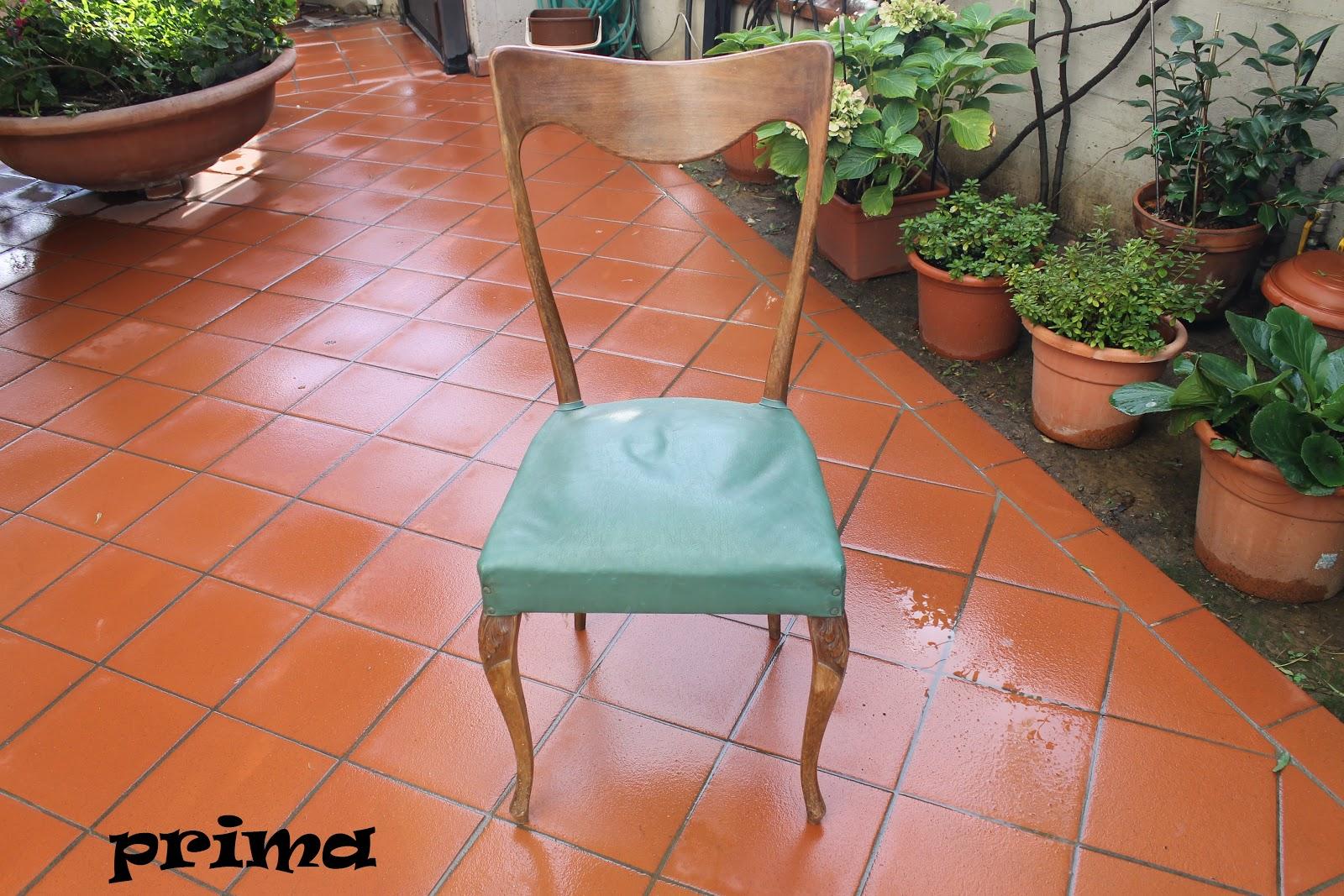 Tappezzeria Trompe L Oeil decora interni : nuova tappezzeria per vecchia sedia