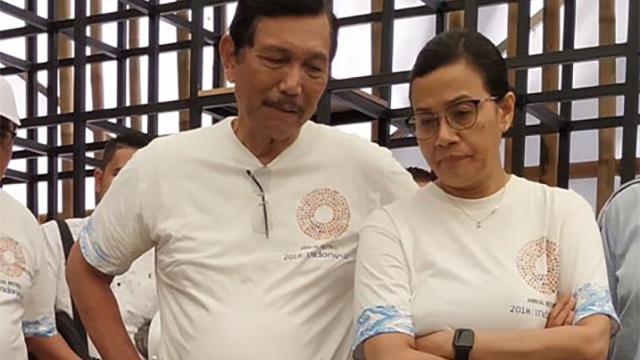 Sri Mulyani Aja Ciut Lawan Rizal Ramli, Apalagi Luhut Pandjaitan
