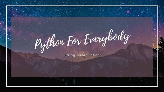 Python String Manupulation Excercise Beginner : 01