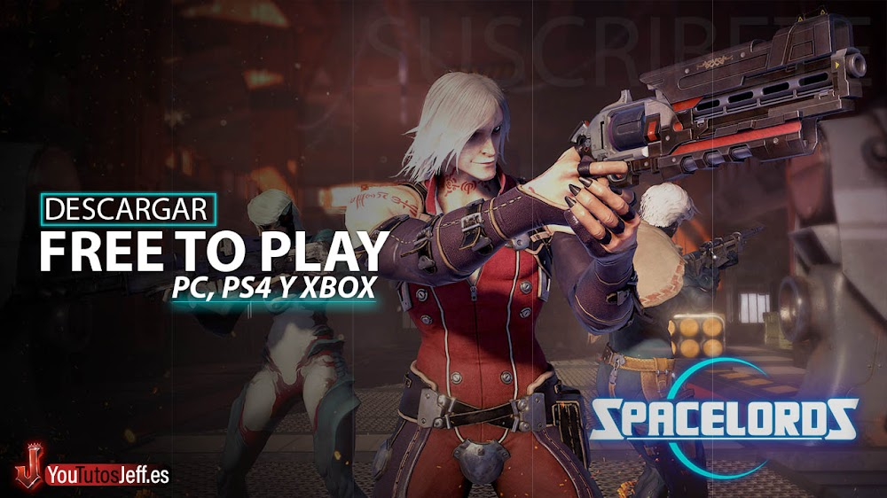 Brutal Free To Play para PC, PS4 y Xbox, Descargar SpaceLords Gratis