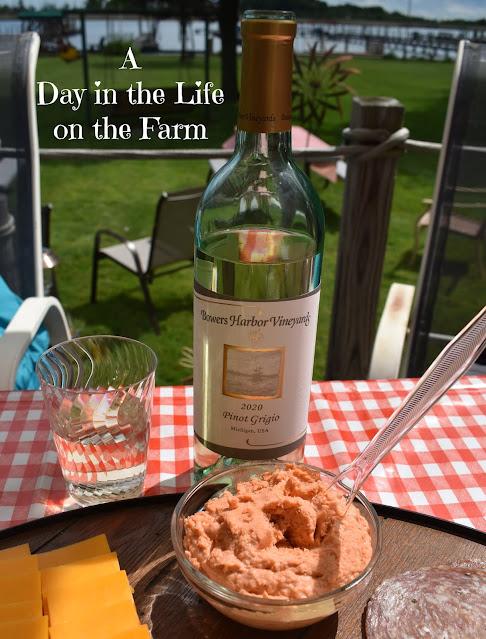 Wine with Smoked Salmon Pate