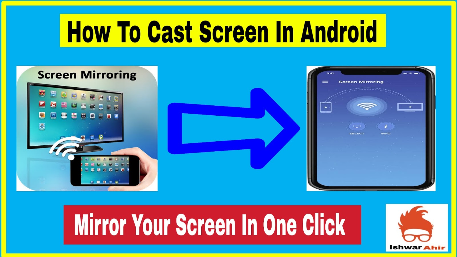 How to Cast Screen in Android