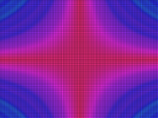 A still image that was drew with 1D noise.