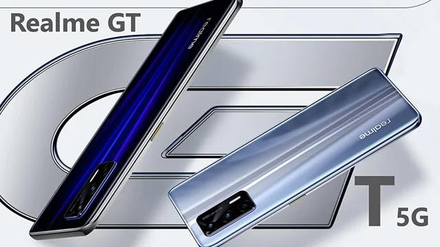 Fiche technique du nouveau téléphone Realme GT.