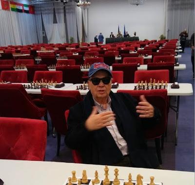 Jaume Anguera MAestro en el Campeonato del Mundo de Veteranos Bucarest-2019