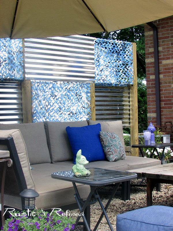 Budget patio makeover