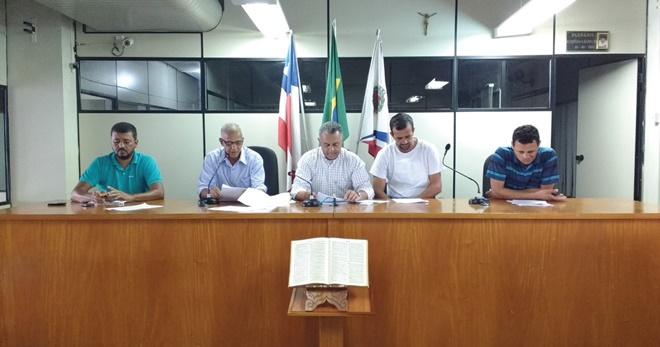 Morro do Chapéu:Vereadores debatem relatório de gestão fiscal do 3º quadrimestre de 2016