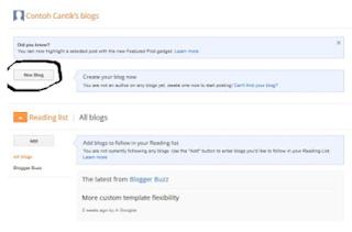 Cara Membuat Blogspot Terbaru dan Termudah 2018
