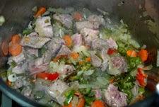 Agregar la carne