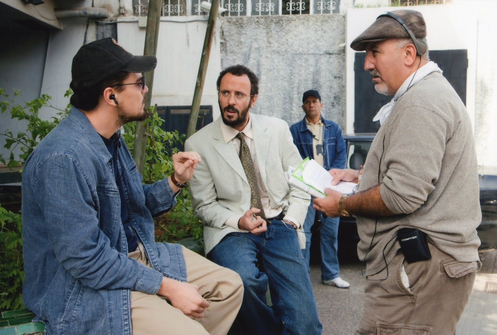 With Leonardo DiCaprio and Ali Soliman, Body of Lies