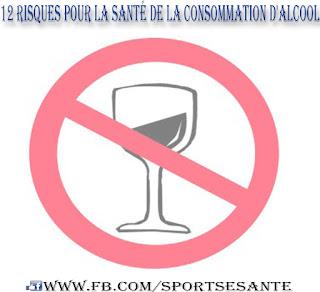 12 Risques pour la santé de la consommation d'alcool