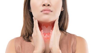 Symptoms of thyroid irregularity