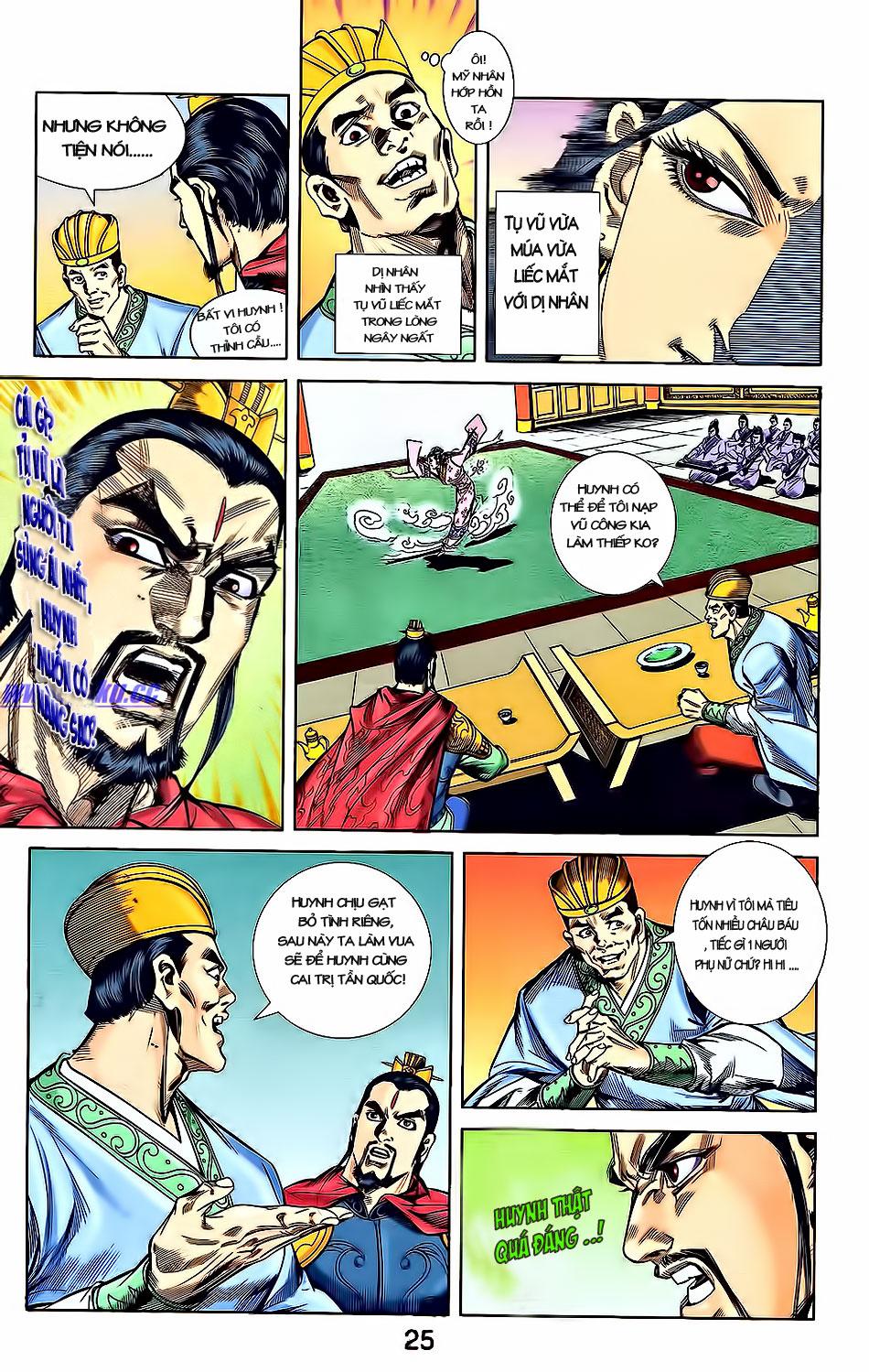 Tần Vương Doanh Chính chapter 3 trang 27