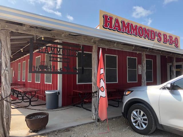 Hammond's BBQ, Glen Rose, Texas