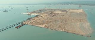 Perairan Pelabuhan Patimban Ditetapkan Sebagai Perairan Wajib Pandu, Pembangunan Terminal 83 Persen
