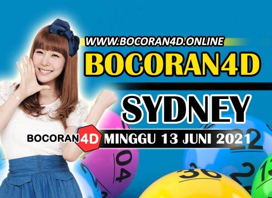 Bocoran Togel 4D Sydney 13 Juni 2021