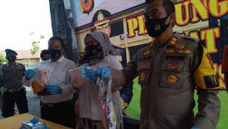 Satreskrim Polresta Cirebon Tangkap Kakek yang Cabuli Empat Anak