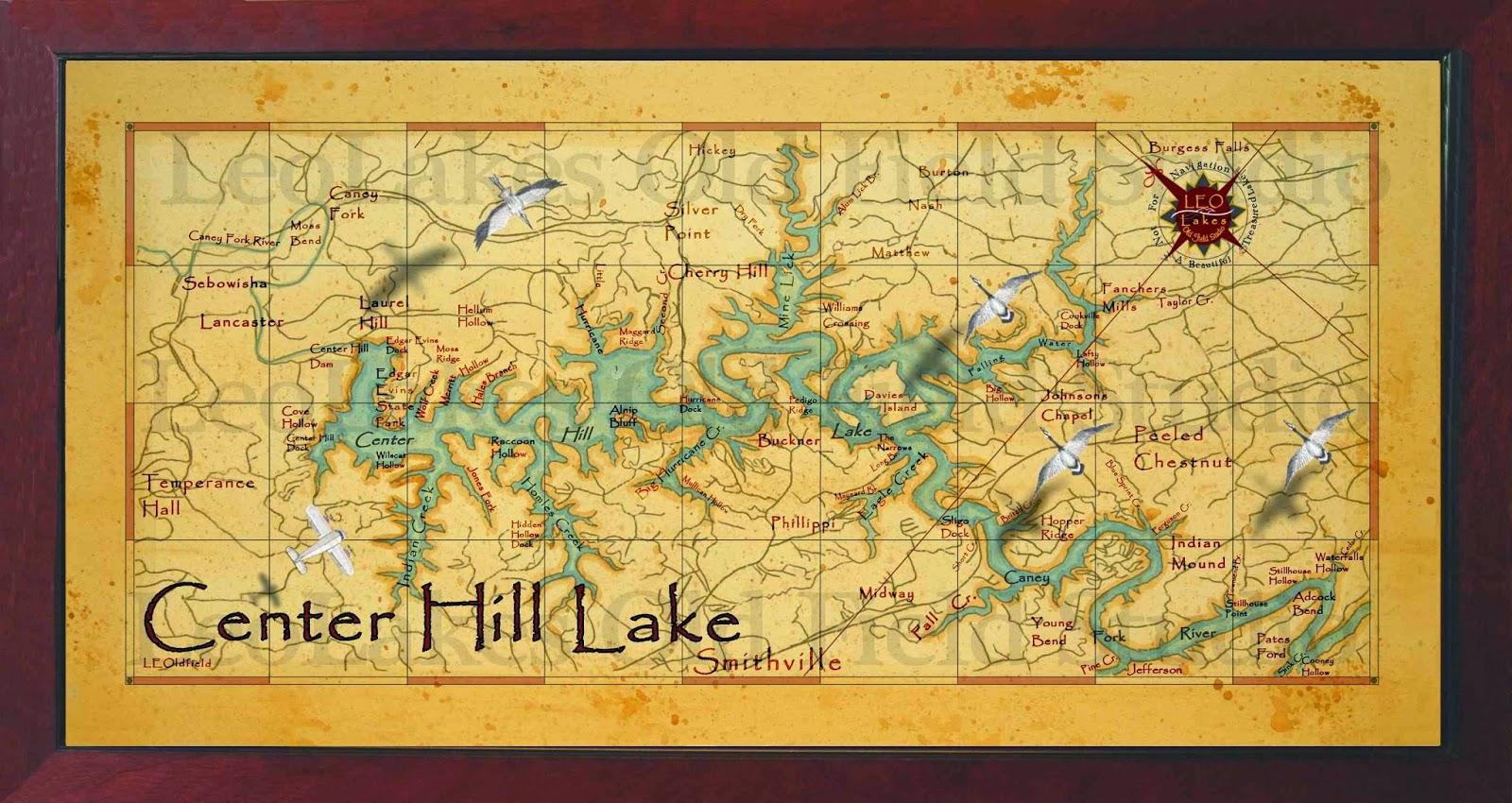 map of center hill lake Leo Lakes Beautiful Lake House Maps map of center hill lake
