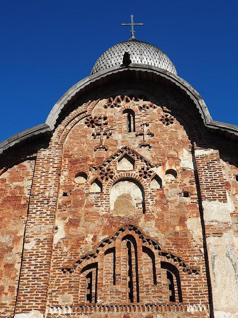 Великий Новгород, церковь Петра и Павла в Кожевниках (Veliky Novgorod, the Church of Peter and Paul in Kozhevniki)