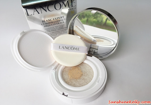 Lancome, Blanc Expert Cushion Compact High Coverage, Lancome Cushion Blush Subtil, cushion compact, cushion blusher, bb compact, makeup, mesh cover, lancome malaysia, lancome makeup