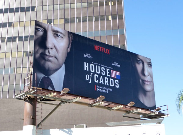 House of Cards season 4 billboard