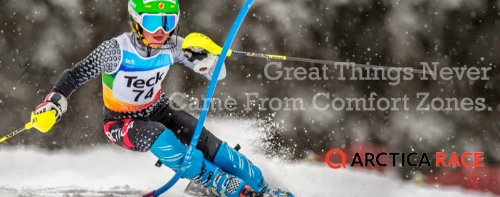 great things never come from comfort zones ski racing cover photos