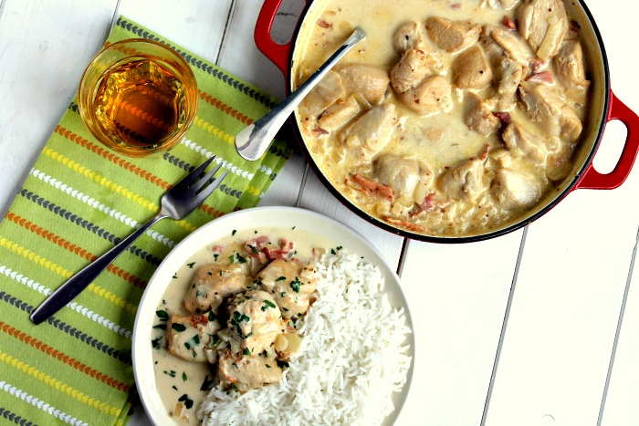 Creamy Cider Chicken