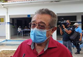 Curado da Covid-19, senador aguarda equipamento da Itália para auxiliar no tratamento da doença
