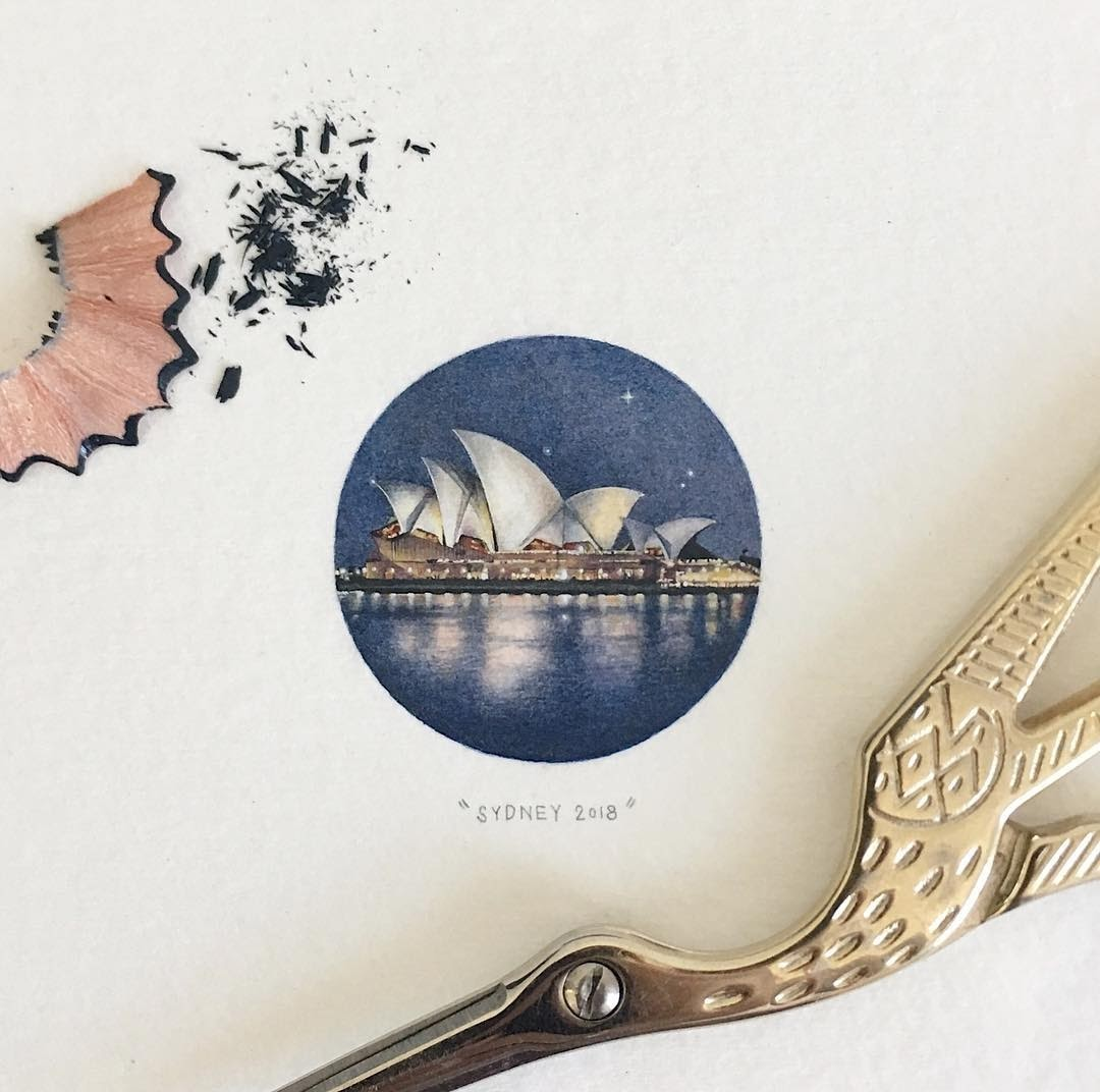 04-Sydney-Opera-House-Loots-Tiny-Miniature-Mixed-Media-Animals-and-Architecture-www-designstack-co