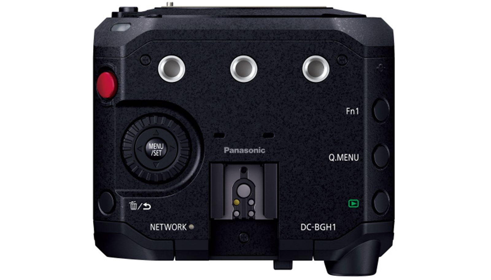 Panasonic Lumix BGH1, вид сверху