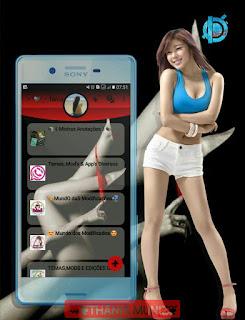 Sexy Girls Theme For YOWhatsApp & Fouad WhatsApp By Thania