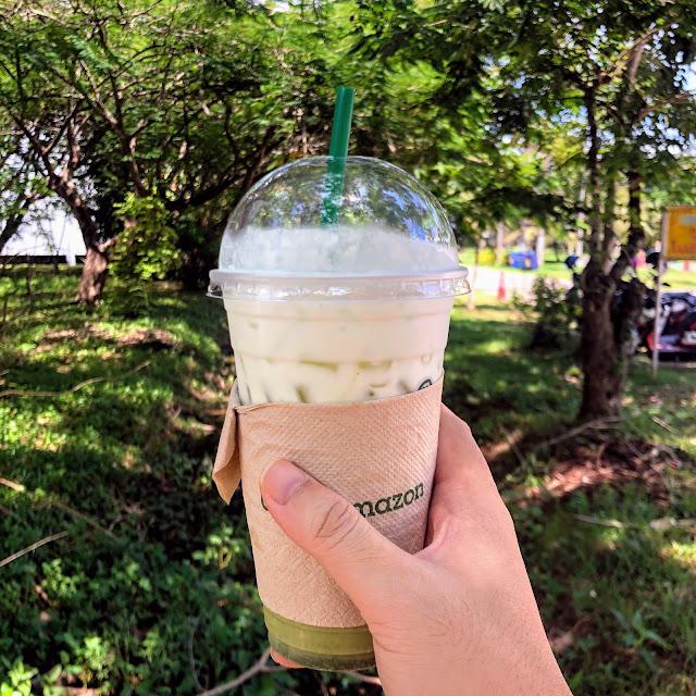 Cafe Amazon กาแฟในสวน ณ ม.อ.ปัตตานี