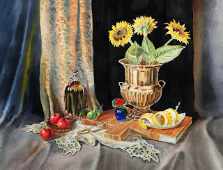 Old Maters Dutch Still Life style artwork for classic interior