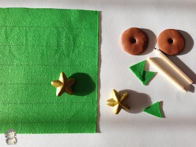 arbolitos navideños en fieltro paso a paso