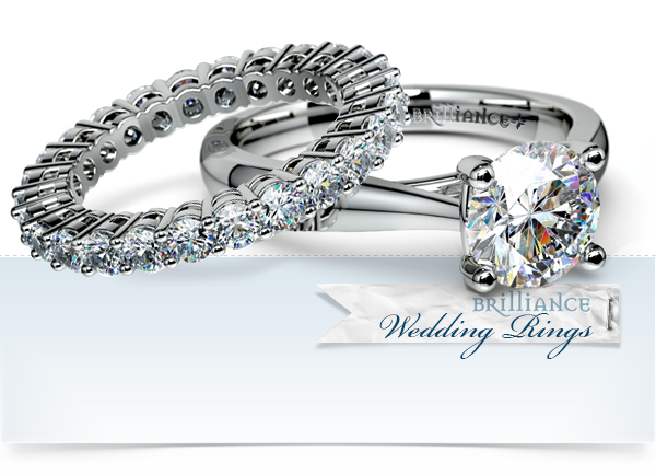 dimond wedding rings infinity band 2png - Gorgeous Wedding Rings