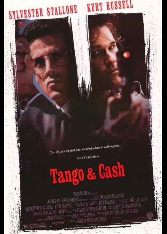 Tango & Cash 1989 x264 720p Esub BluRay Dual Audio English Hindi THE GOPI SAHI