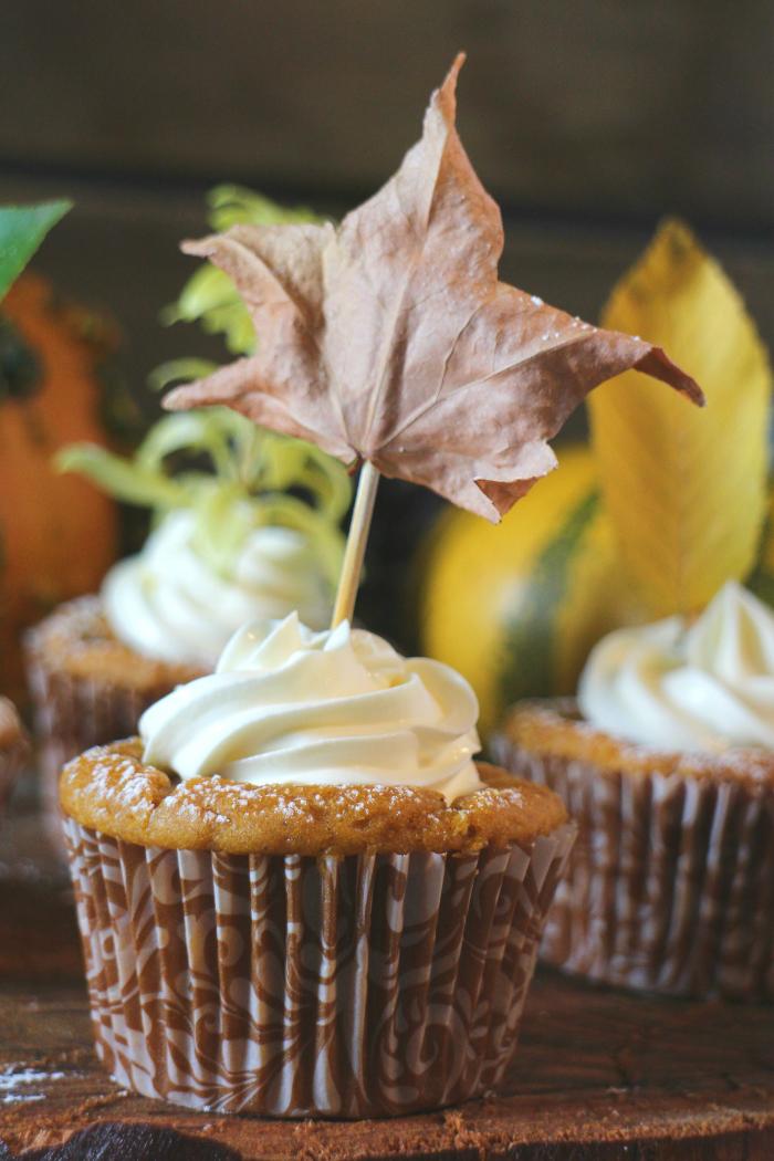 muffins-de-calabaza, pumpkin-muffins, toppers-de-otoño