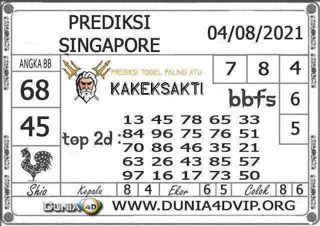 Prediksi Togel SINGAPORE DUNIA4D 04 AGUSTUS 2021